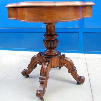 tavolo a biscotto in noce 800 fronte 112 cm 01 9
