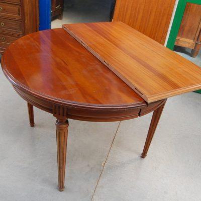 tavolo in ciliegio stile direttorio diametro 109 cm 2 allunghe 01