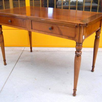 tavolo scrittoio in stile direttorio ciliegio fronte 120 cm 01 10