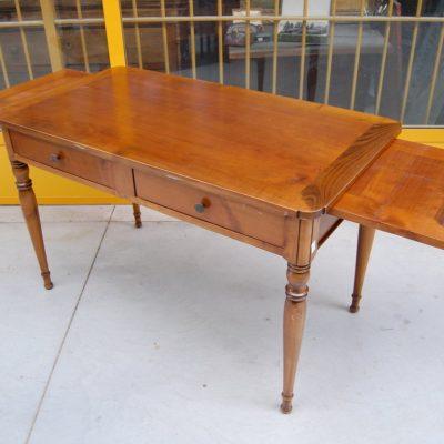 tavolo scrittoio in stile direttorio ciliegio fronte 120 cm 01 2