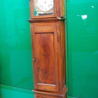 Pendolo in noce a cappello di gendarme in noce Restaurazione 192941561190