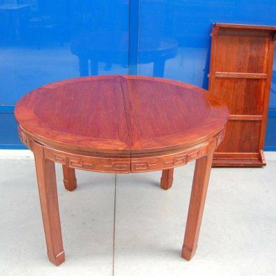 Tavolo cinese con fascia decorata diametro 1115 cm completo prolunga 202239971231