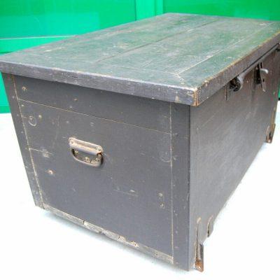 Baule militare da munizioni in legno e ferro fronte 93 cm prima met 900 193278719865