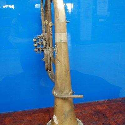 Flicorno basso in ottone fine 800 32 x 73 cm 192581892275 2