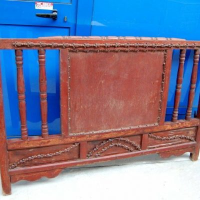Testiera testata di letto indiano scolpito e laccato lungo 151 cm SPEDIZION 202424264476 2