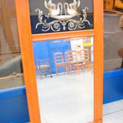 Specchio met 900 h 125 in stile Impero decorato con cigni 193282914877 2